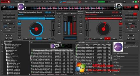 Ekrānuzņēmums Virtual DJ Windows 7