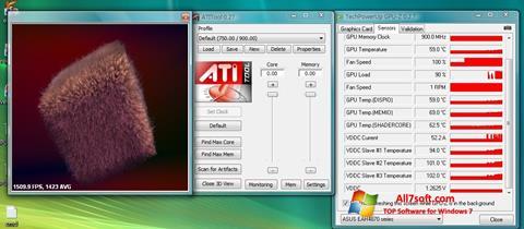 Ekrānuzņēmums ATITool Windows 7