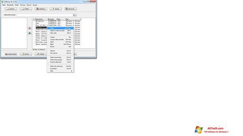 Ekrānuzņēmums ArtMoney Pro Windows 7