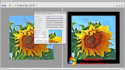 Ekrānuzņēmums FotoSketcher Windows 7