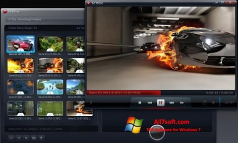 Ekrānuzņēmums Action! Windows 7
