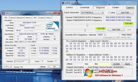 Ekrānuzņēmums SetFSB Windows 7