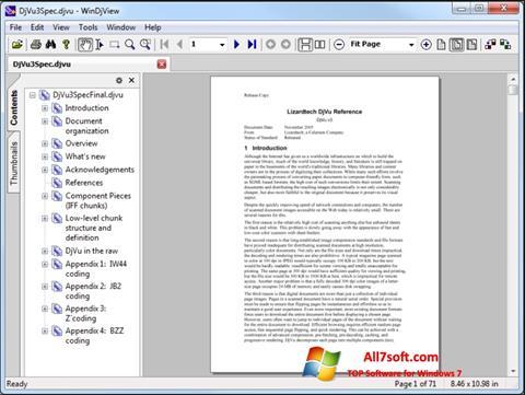 Ekrānuzņēmums WinDjView Windows 7