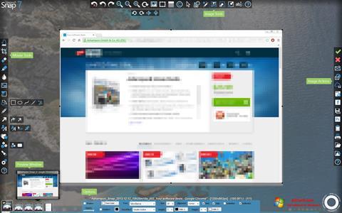 Ekrānuzņēmums Ashampoo Snap Windows 7