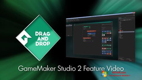 Ekrānuzņēmums Game Maker Windows 7